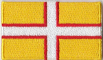 Dorset Embroidered Flag Patch, style 04